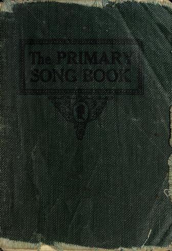 Primary Song Book (1905)