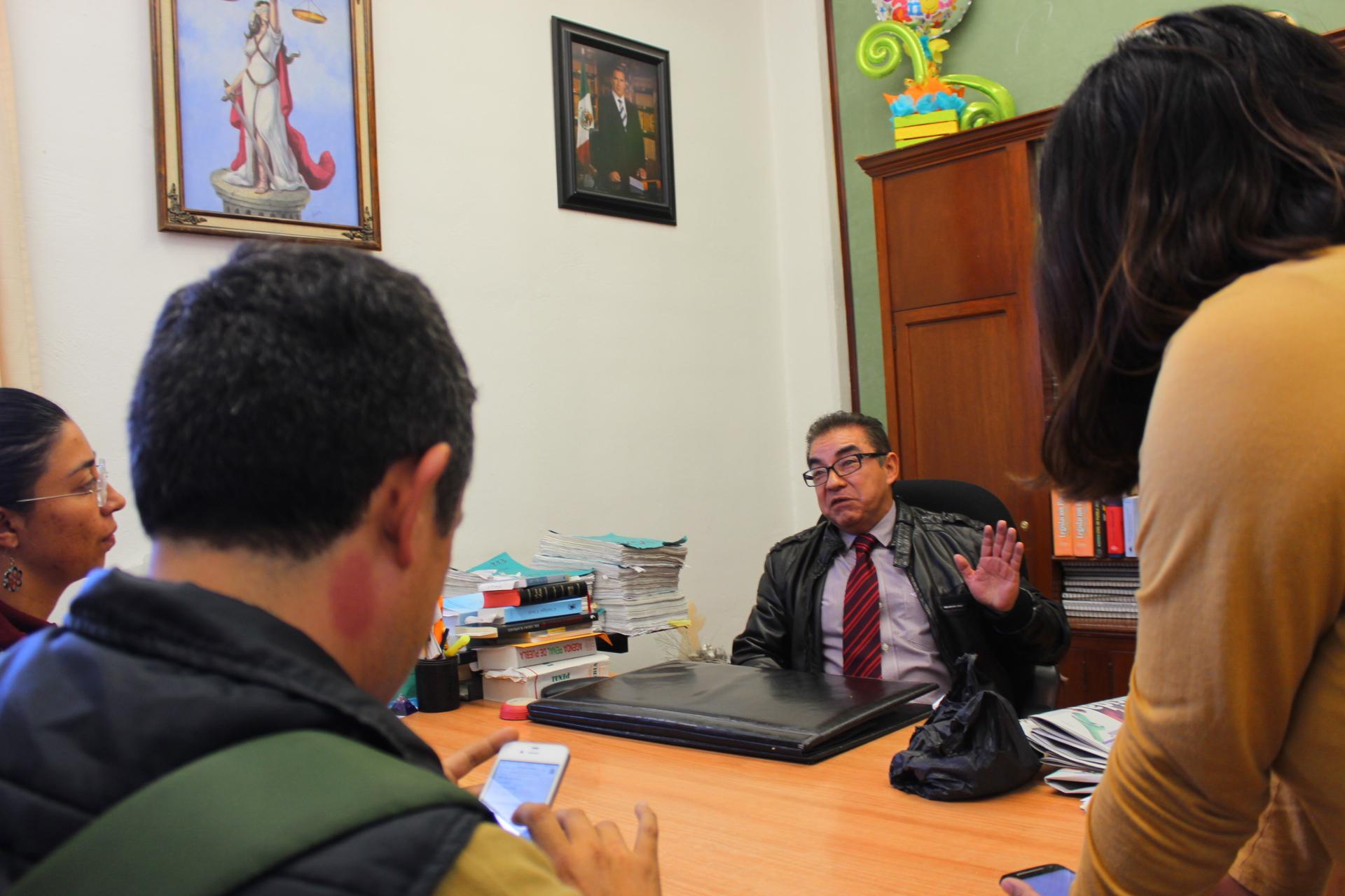 Alejandro León Flores, Juez Penal de Cholula