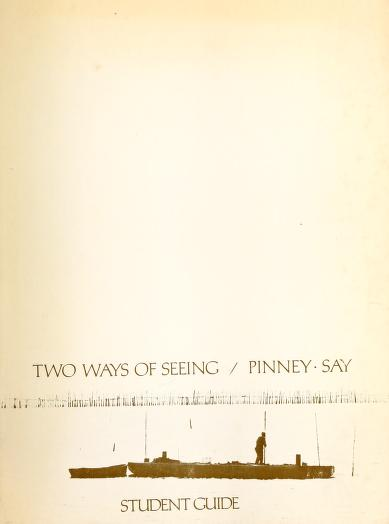 Two ways of seeing by Wilson G. Pinney